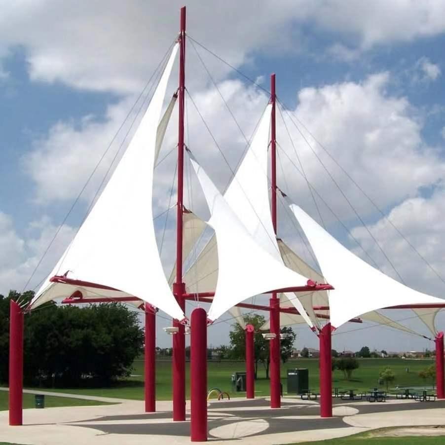 西双版纳膜结构遮阳雨棚厂家